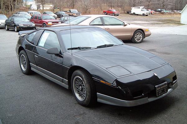 November 27, 2003:  1987 Fiero GT in Ebensburg, Pennsylvania .  .  .