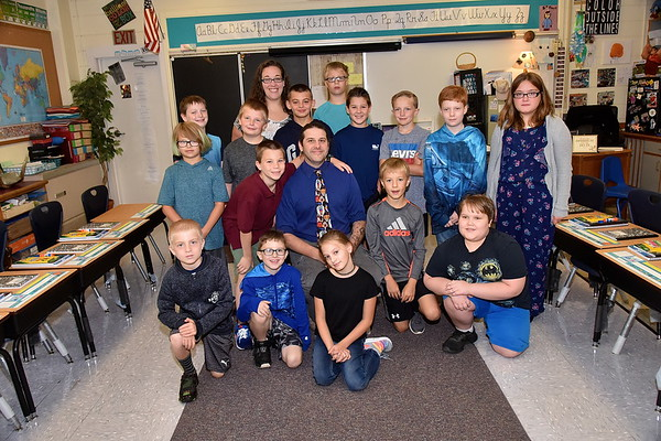 Meet Mr Pratico's Fifth Grade photos by Gary Baker