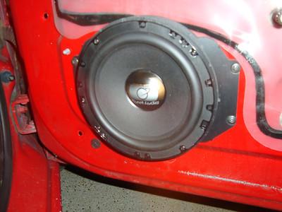 2000 Chevy Cavalier LS 2 Door Front Door Speaker Installation