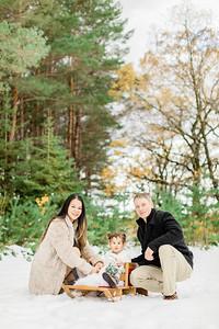 Winter Mini Session - Neufeld Family 2019