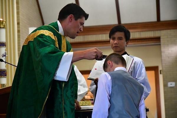 Matthew's Christian Initiation
