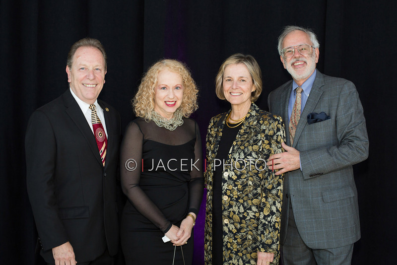 Photo Credit: Jacek Photo. Caption: L-R Joel and Joyce Cohen with Peggy and Richard Greenfield at The Cultural Council of Palm Beach County 2014 Muse Awards at The Kravis Center in West Palm Beach, Fla. on March 13, 2014.