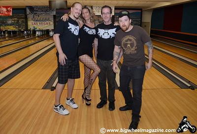 Pins & Needles - Punk Rock Bowling 2012 Team Photos - Squad 2 - Sam's Town - Las Vegas, NV - May 26, 2012