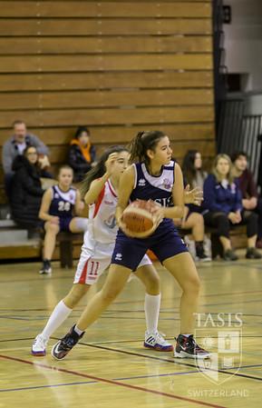 TASIS Girls JV Basketball U17 Cassarate