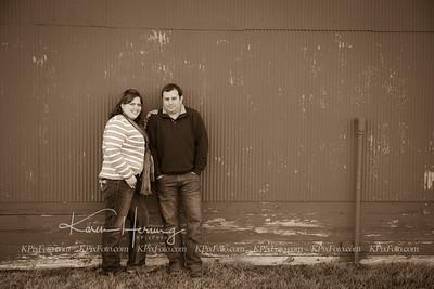 Mel & Seth Engagement Feb Sepia