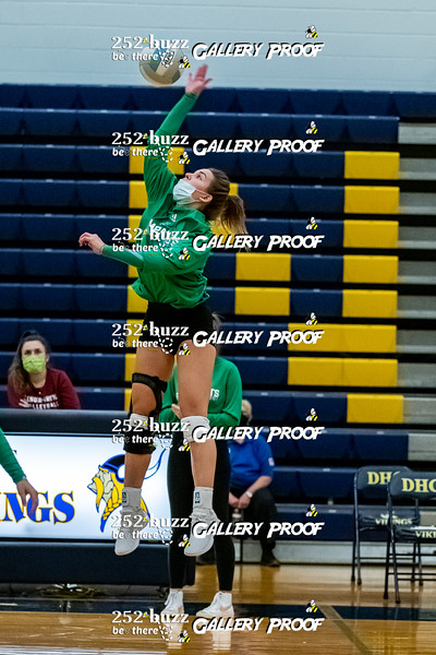 DH Conley vs JH Rose varsity volleyball, November 23, 2020