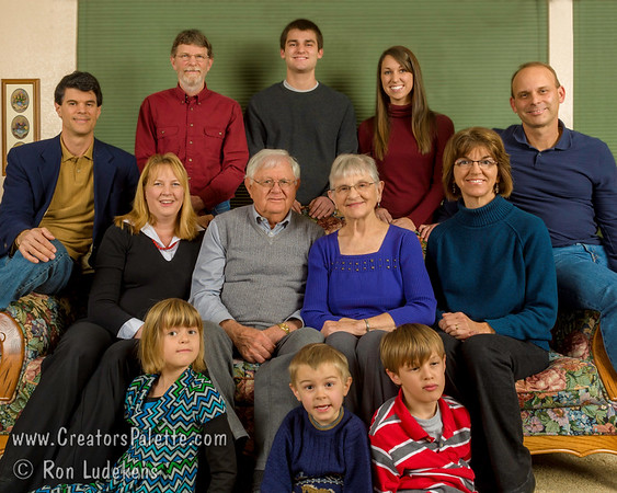 Quenzer Family Portrait - Visalia