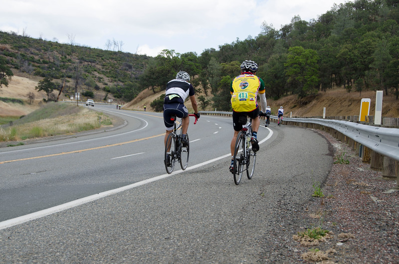 The final Hwy 20 climb