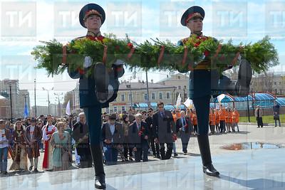 07.05.2018 Митинг в Казани в честь 73-й годовщины Победы в ВОВ (Расих Фасхутдинов)