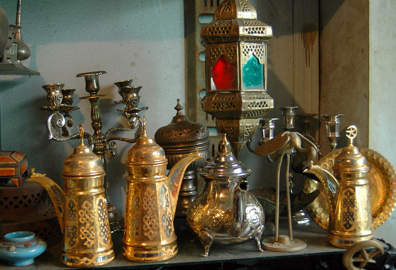 Tripoli: Medina, metal worker's shop