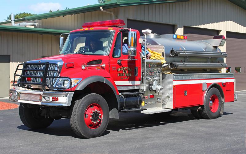 Tanker 33   2006 International / Somo.  1250 / 2500