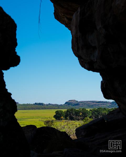 View near Mamarrkan Sisters, Ubirr