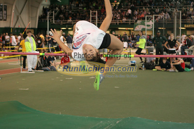 Girl's High Jump - 2012 MITS Finals
