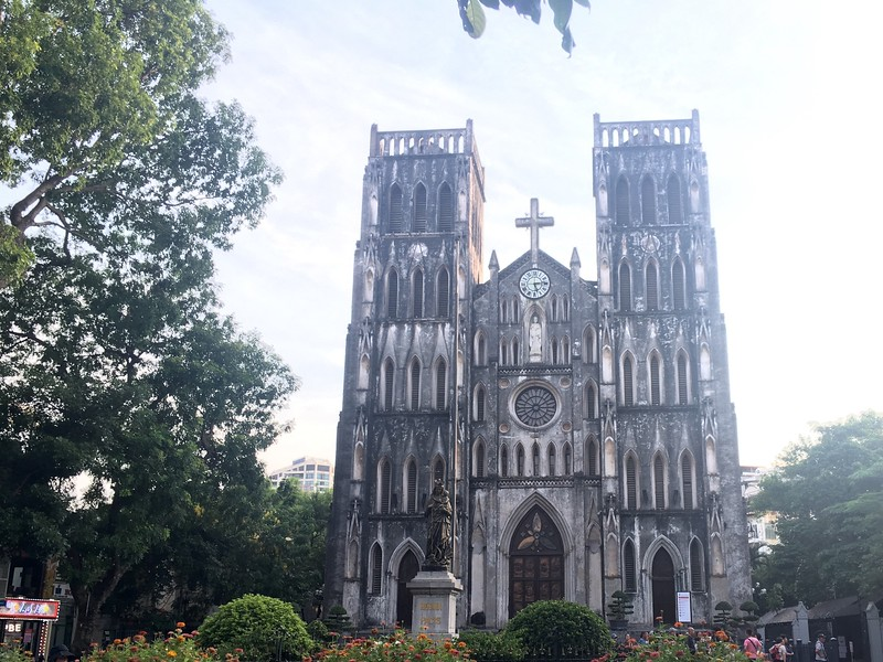 St Joseph's Cathedral - Hanoi, Vietnam