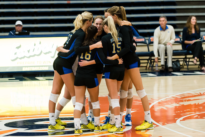 UCLA Women's Volleyball vs. Yale @ Titan Gym, Cal State Fullerton