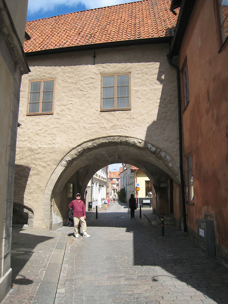 Medieval Arch in Visby