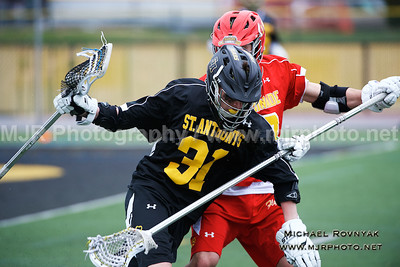 Lacrosse, Boys JV, 04-14-15 #31 St Anthonys Vs Chaminade