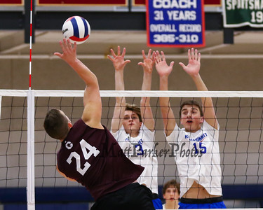 2019-4-12 WHS Boys Volleyball vs Goffstown