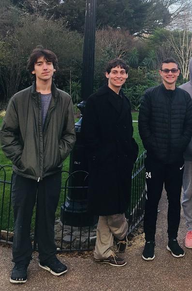 The boys in St James Park.JPG