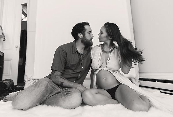 Maternity: Kinu + Arturo