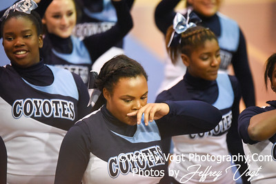 11-12-2016 Clarksburg HS at MCPS Cheerleading Championship Division 1 at Montgomery Blair HS, Photos by Jeffrey Vogt Photography