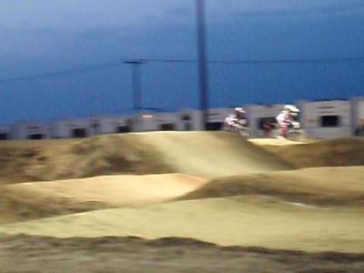 Freedom Park BMX New Track 1st time