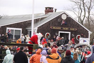 Santa arrives by boat — 2009