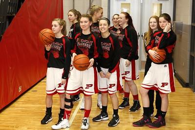 Girls JV Basketball - 2/2/2017 Reed City