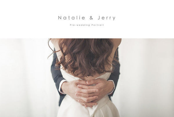 Studio Pre-Wedding - Natalie and Jerry