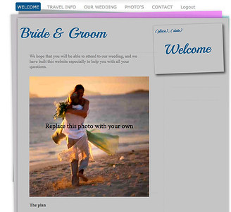 80110 My wedding website with own domain and email