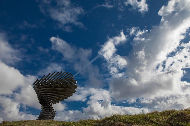 The Singing Tree Panopticon near Burnley, Lancashire.