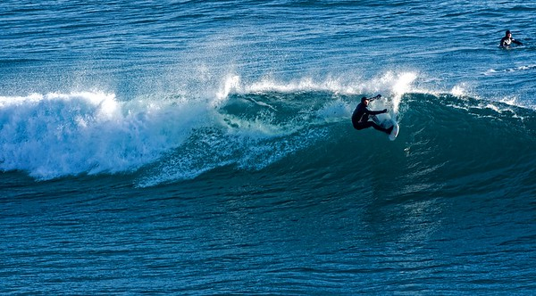 Surfing in the Dingle Peninsula