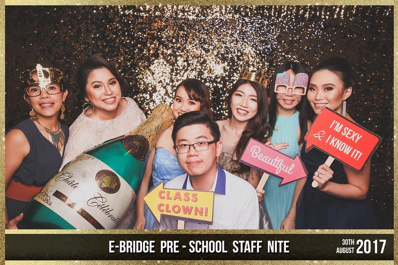 E-Bridge Pre-School Staff Night 2017   © SRSLYPhotobooth.sg