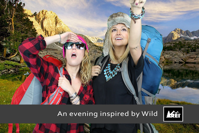 REI Wild Photo Booth Prints