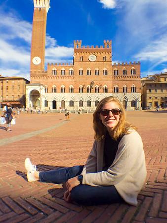 Caroline Dillon IES Abroad Rome