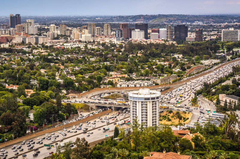 "May 22 - "" The 405 freeway is the worst; it is less a roadway and more a merciless, elongated parking lot into which no hope of mobility can merge."" - L.A.Weekly.jpg"