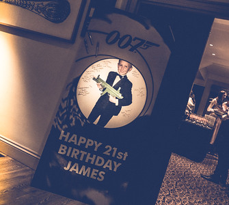 James Bond's 21st Birthday Party