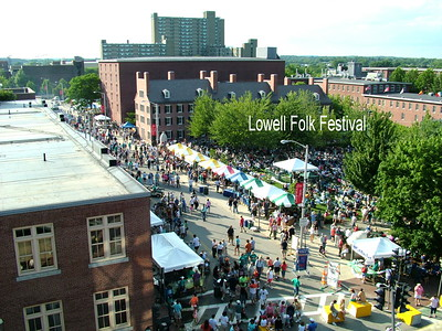 Lowell, MA - Folk Festival