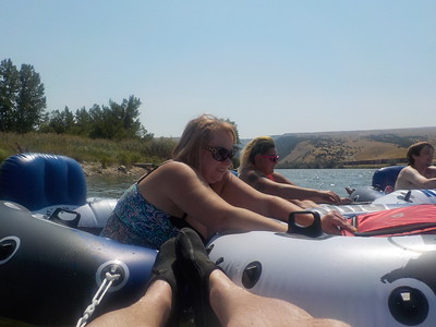 2017 Tubing in Thermopolis