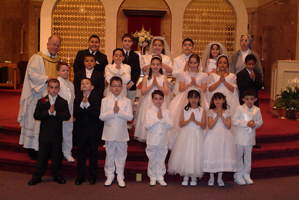 First communion - 2008