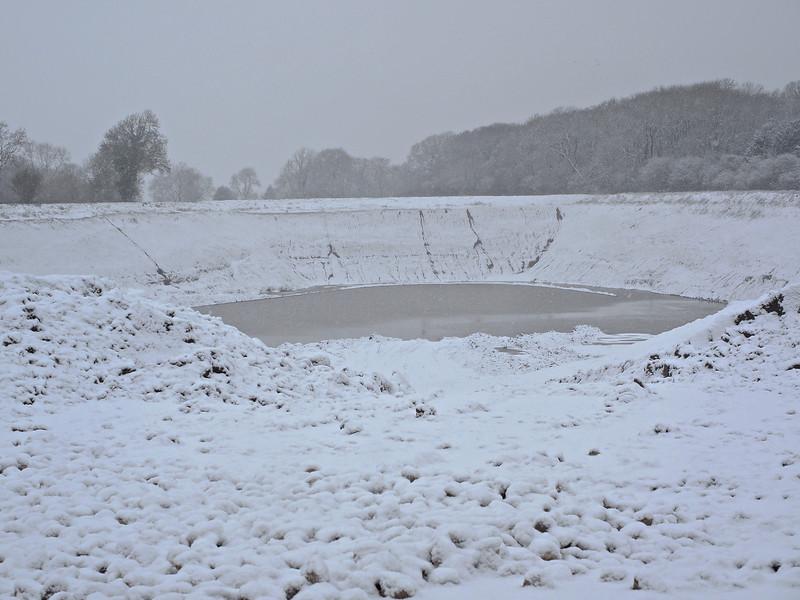 Snow quarry