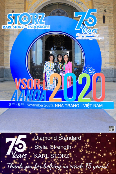 Karl Storz Vietnam | 75 Years Anniversary instant print photo booth @ Vinpearl Nha Trang | Chụp hình in ảnh lấy li�n Sự kiện tại Vinpearl Nha Trang | Nha Trang Photobooth