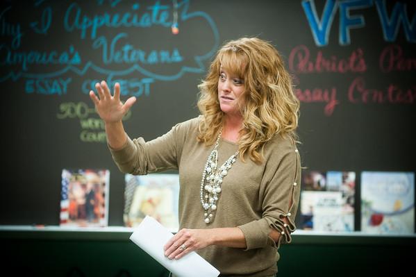 Melanie Beaver at West Vigo Middle School
