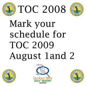 TOC 2009 Sponsor Cocktail Party