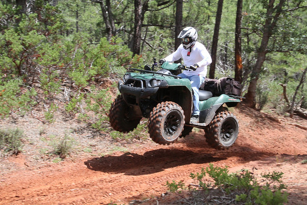 Folz Cabin in Payson PitBull Tire Test 07-13