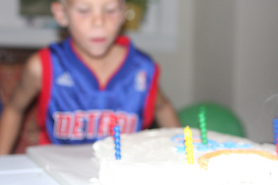 Anton's 7th Birthday