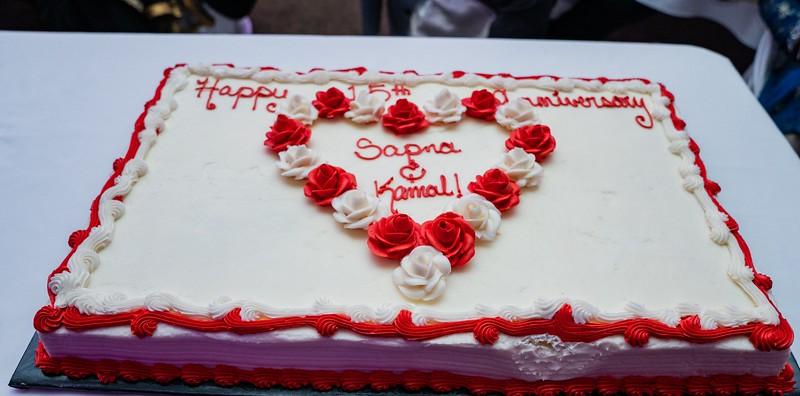 Sapna and Kamal anniversary