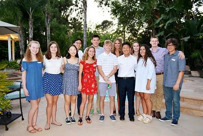 Sister Cities Exchange Students Shine