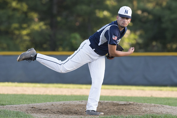 Newington baseball defeated Bristol in an American Legion game in Newington on Monday July 8, 2019. Simao Cabral (20). Wesley Bunnell | Staff