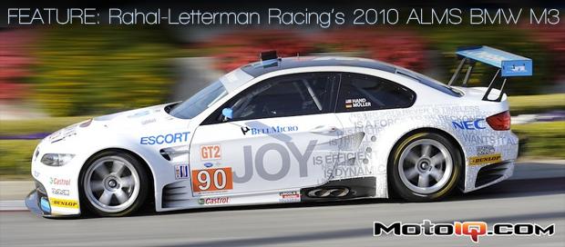Rahal Letterman BMW M3 ALMS racer